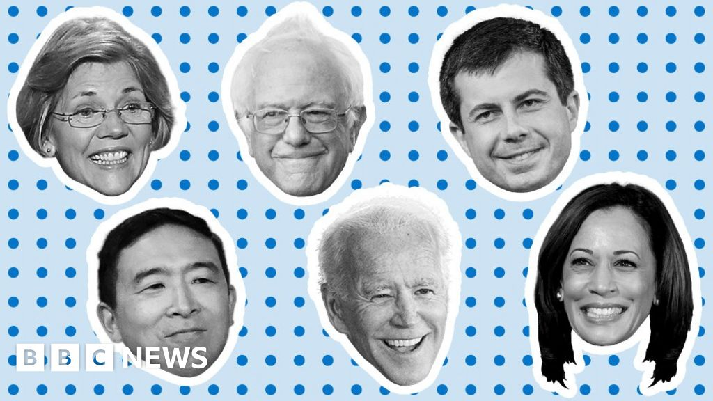 US election 2020: Five charts on the Democratic race to take on Trump