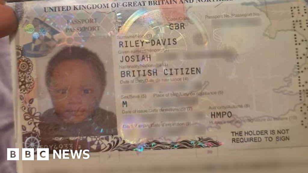 Mum travels on baby son's passport