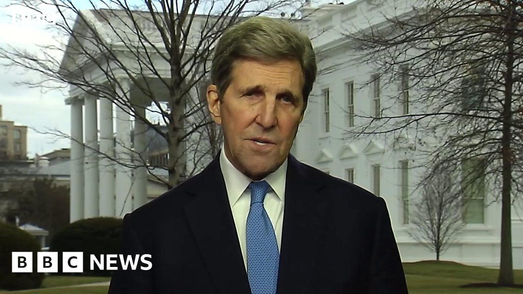 John Kerry: UK climate summit is world's 'last best chance'