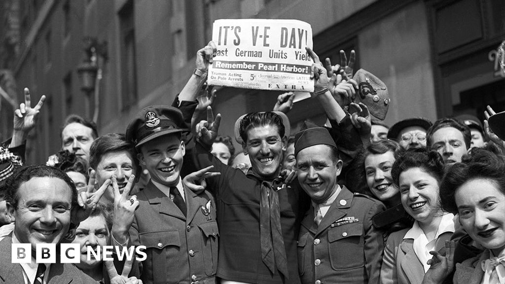 VE Day: 'Do not despair, do not yield'