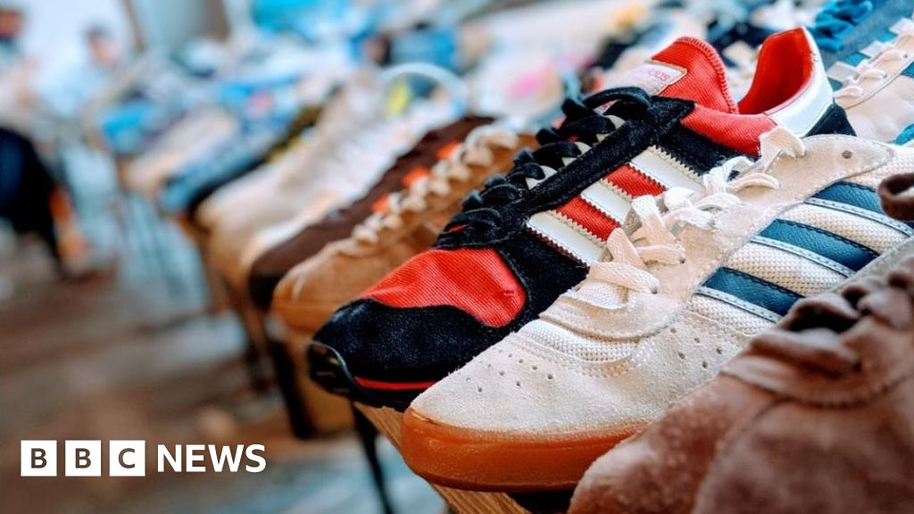 Sheffield trainer-festival: Rare vintage shoes on the map