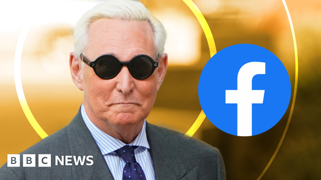 Facebook bans 'Roger Stone disinformation network'