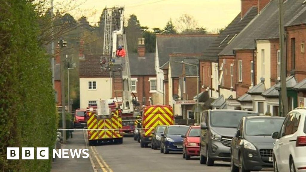 Kirby Muxloe house fire caused by fuse box fault - BBC NewsBBC.com