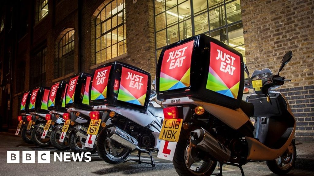 Just Eat Criticised Over Service Charge Bbc News