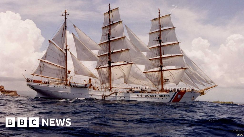 Why Is The Us Still Using A Nazi Tall Ship Bbc News