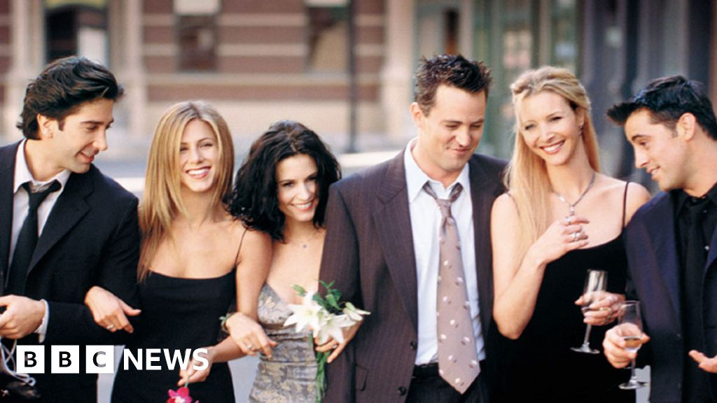 Friends is the UK's top streaming show