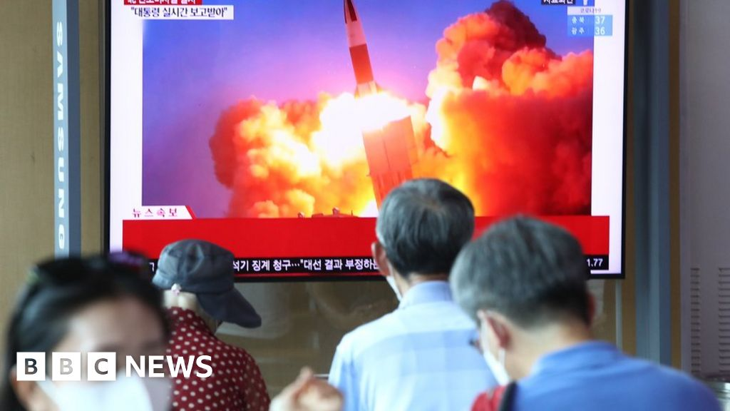 North and South Korea test ballistic missiles hours apart