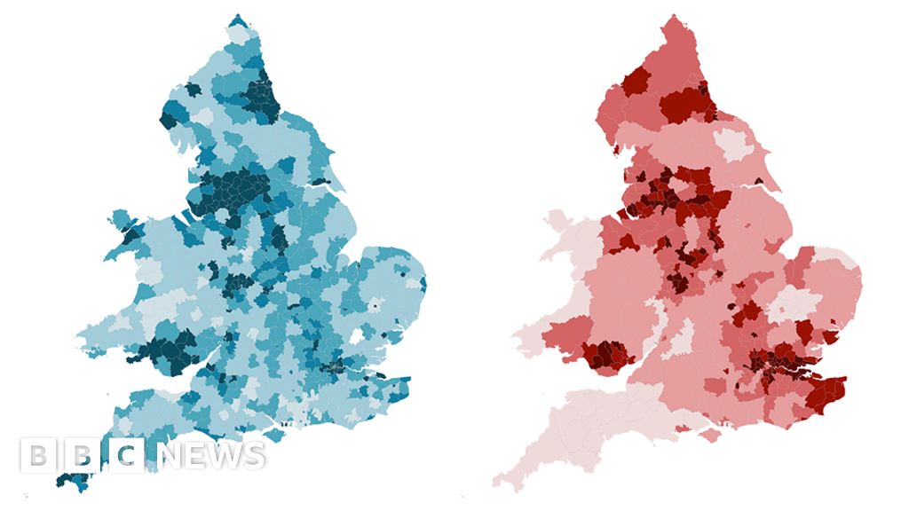 Dying too young: England maps show little has changed in 170 years
