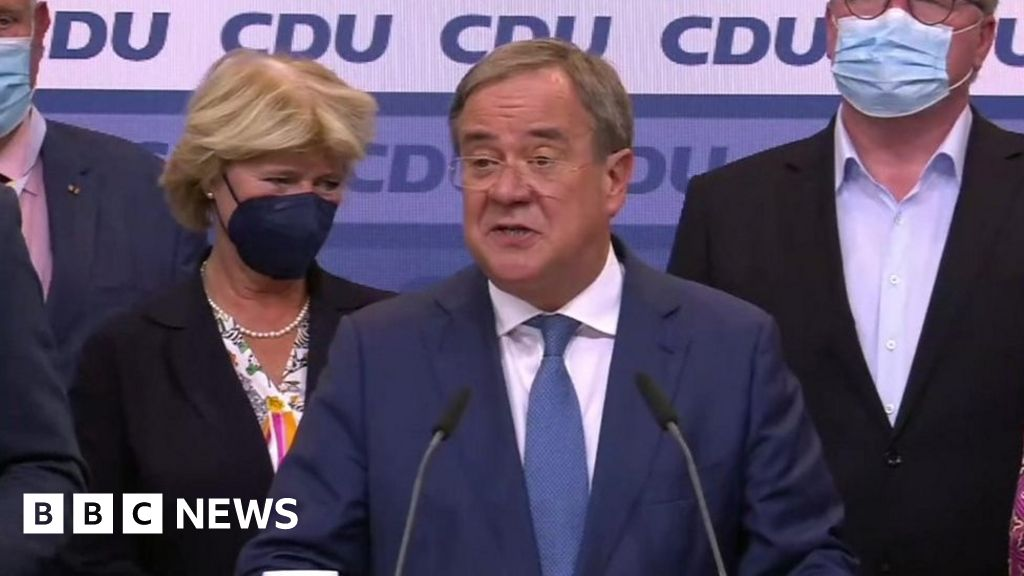 CDU leader 'not happy' with Germany exit poll result