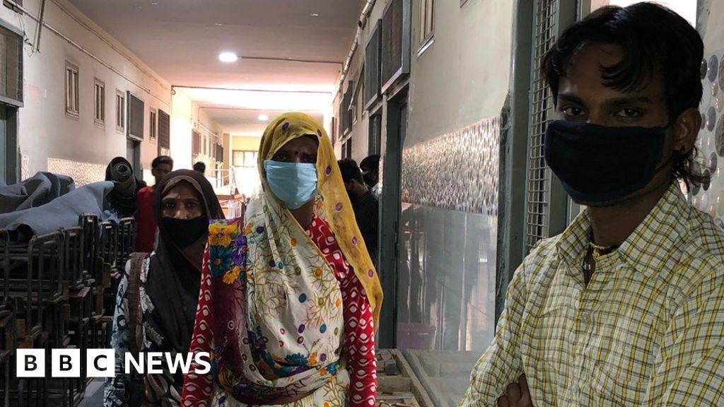 Coronavirus in India: Desperate migrant workers trapped in lockdown