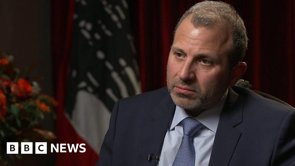 Bassil: We have the courage to disagree with Washington - BBC News