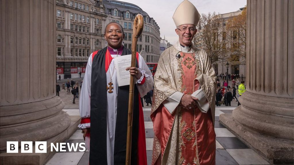 Rose Hudson-Wilkin: First black female bishop consecrated
