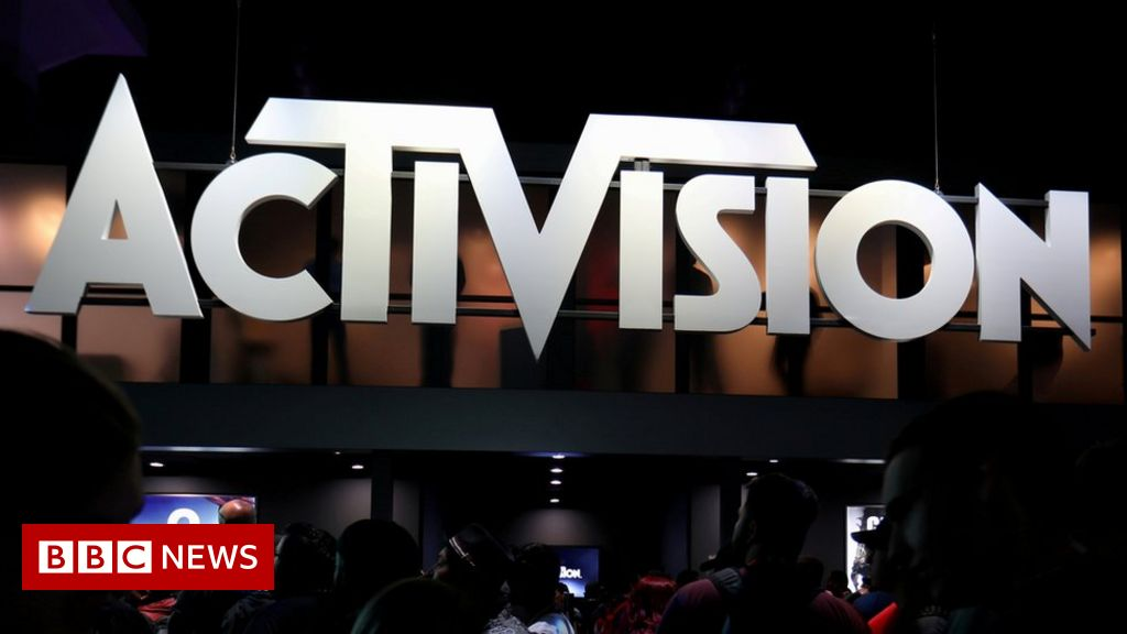 California sues Activision Blizzard over alleged harassment