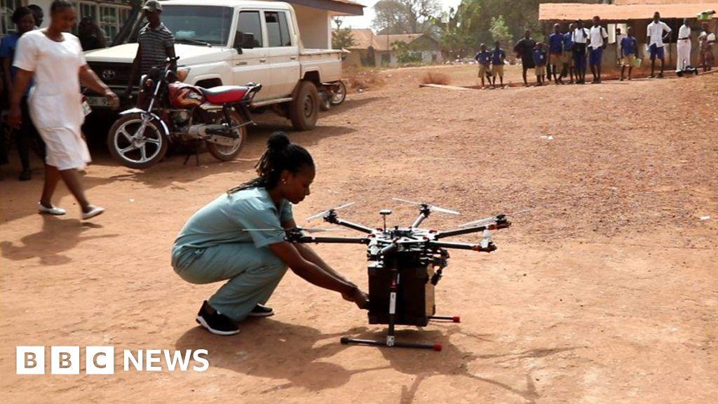 Can drones make childbirth safer in Sierra Leone?