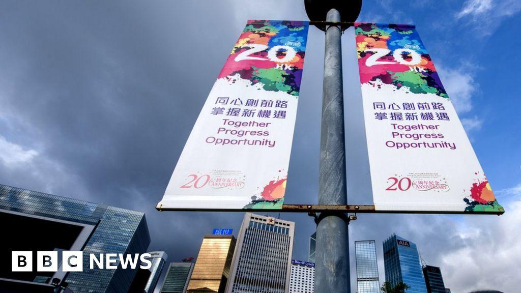 Hong Kong's handover: How the UK returned it to China - BBC News
