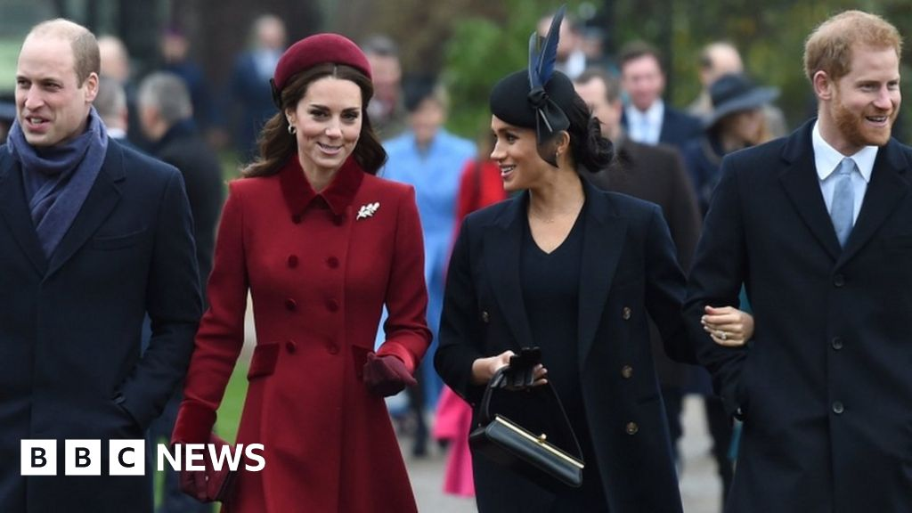 Harry and Meghan split from royal charity