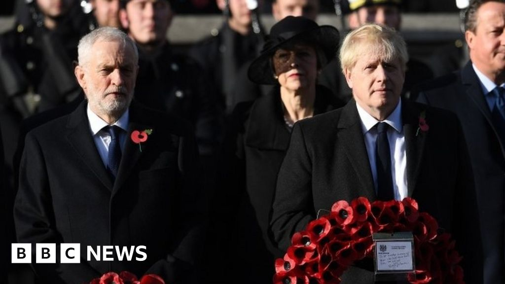 General election 2019: Labour and Tories make Armistice Day vows to forces