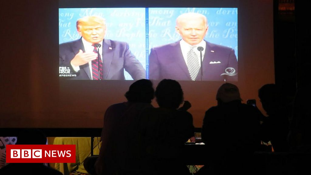 US election: Rules on debates to change after Trump-Biden spat thumbnail