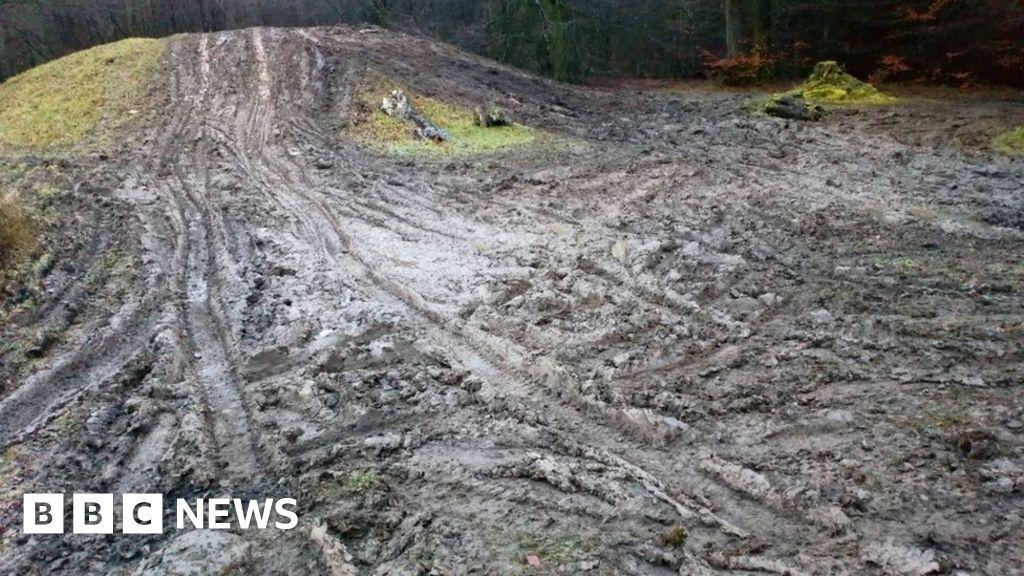 Terrible, Newport Burial Mounds Damage