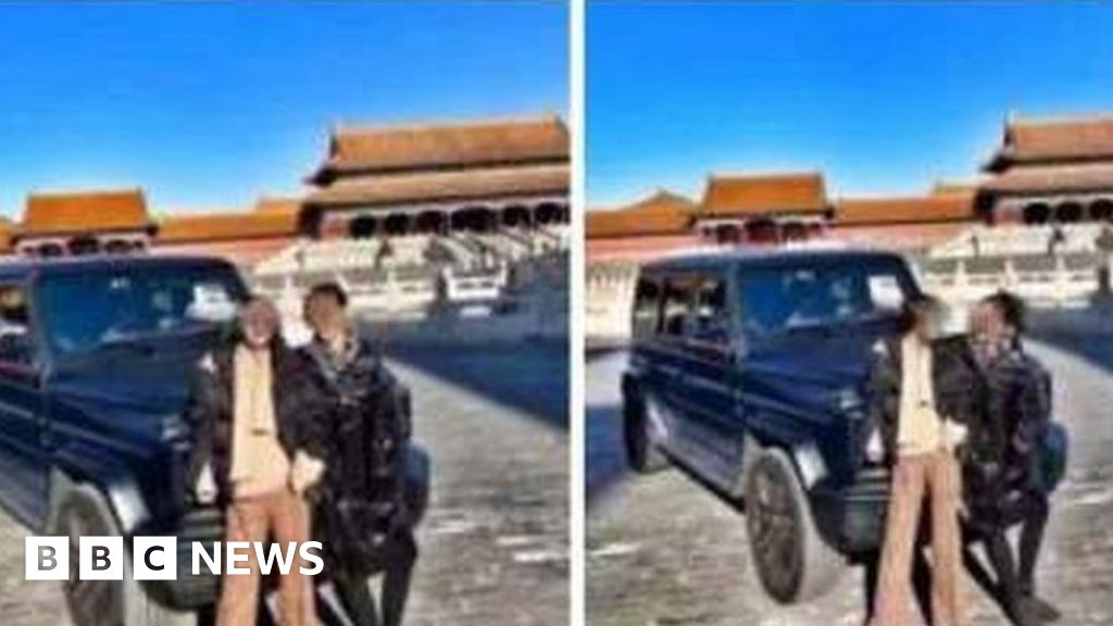 China s anger after wife departs in the Forbidden city