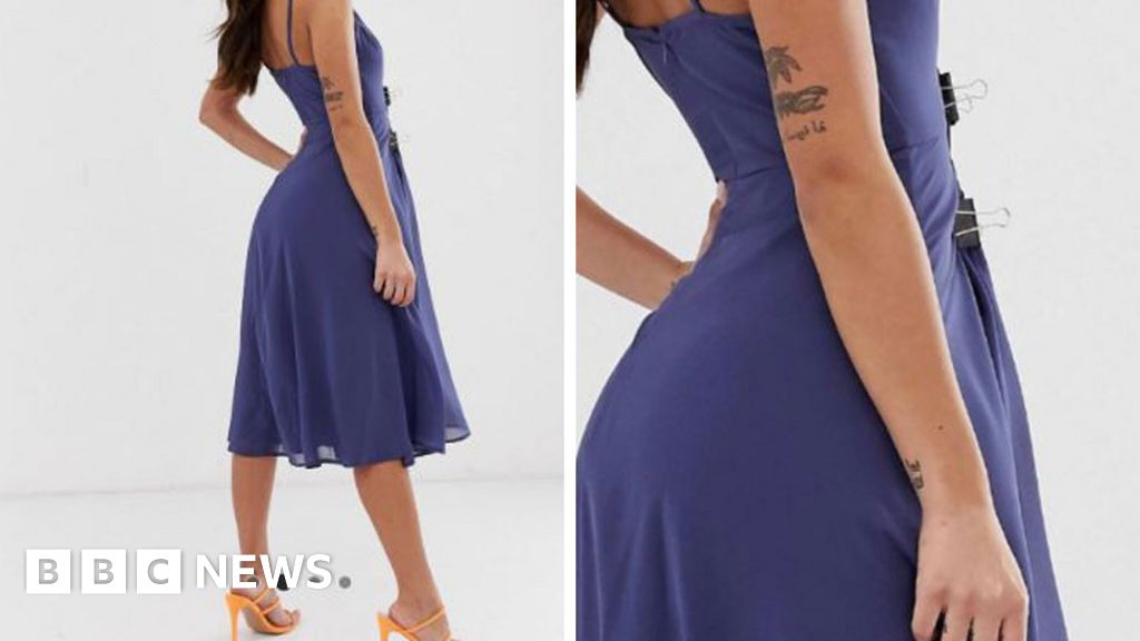 ASOS has a wardrobe malfunction moment