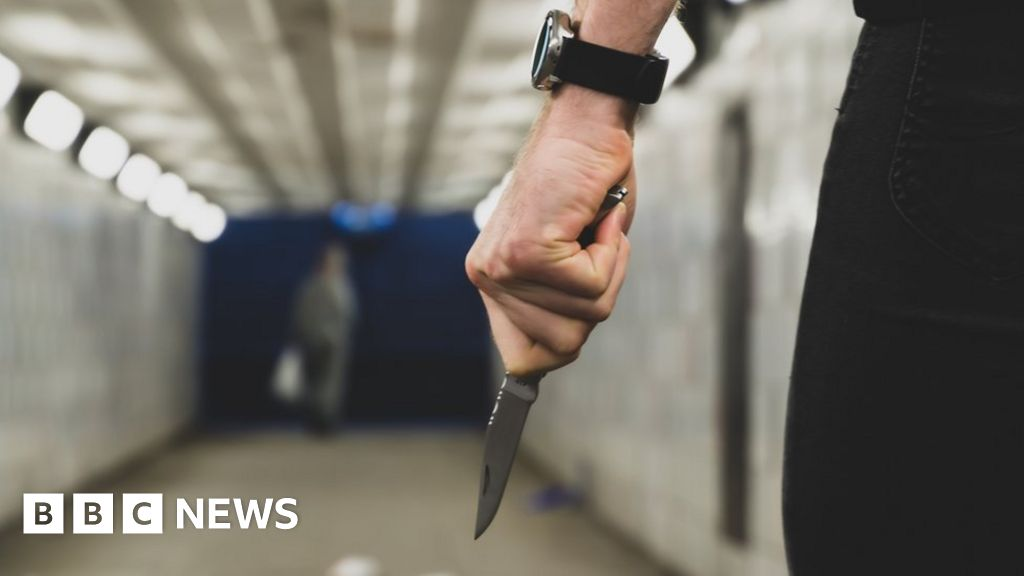 Knife crimes recorded in Wales double in a decade
