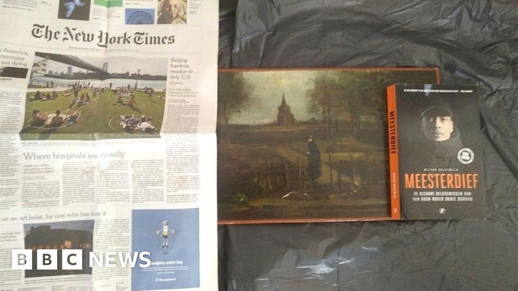 Art detective receives photos of 'stolen Van Gogh'