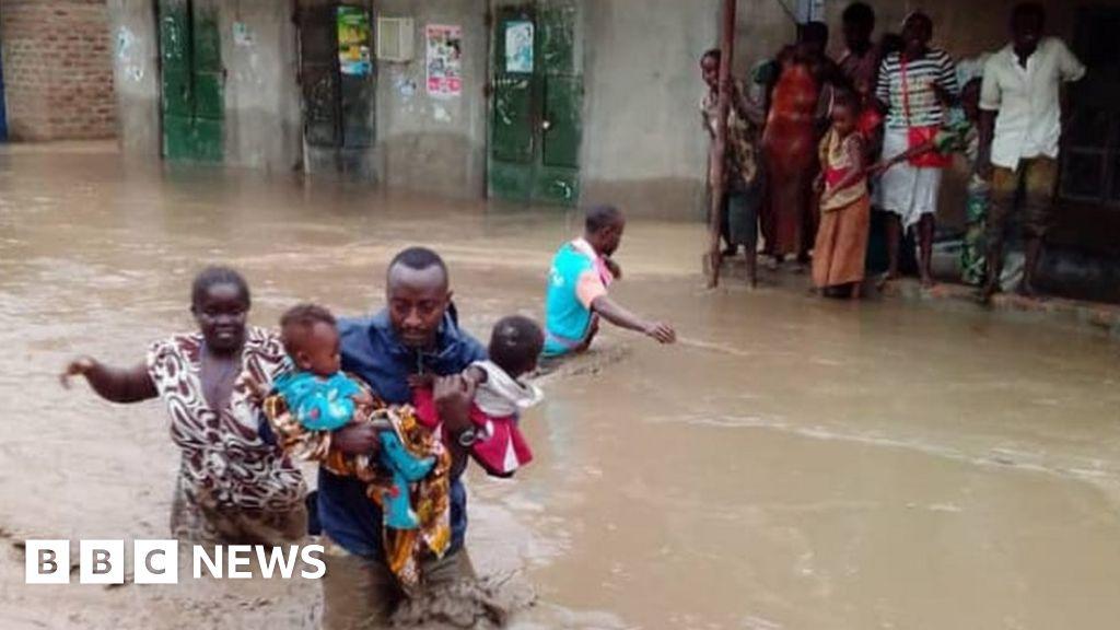 Uganda floods: At least 16 people dead, Red Cross says