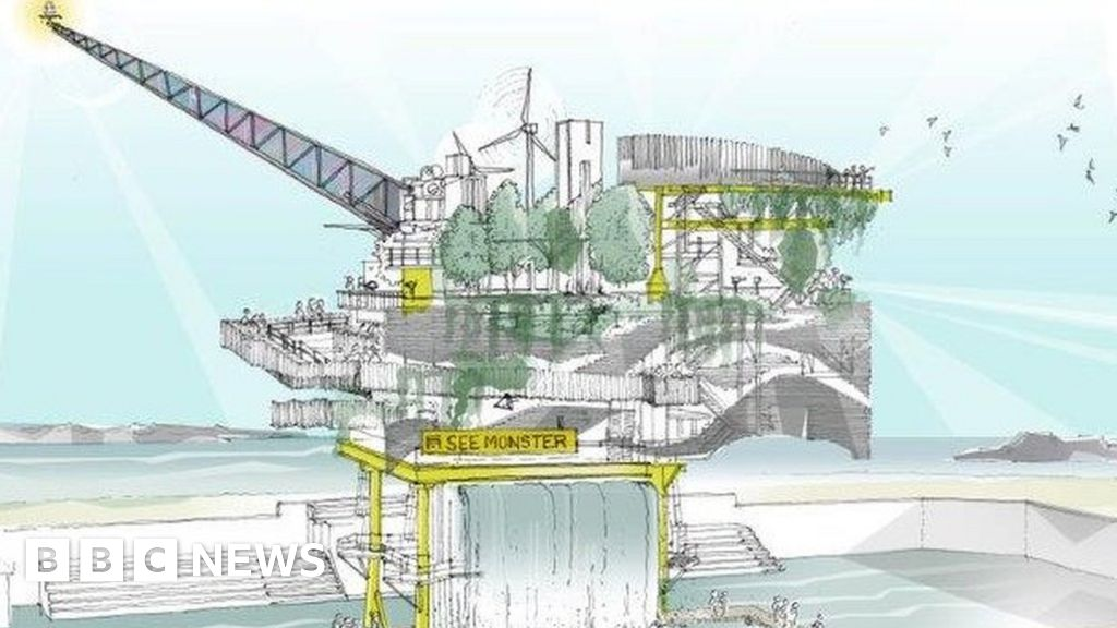 Unboxed: Oil rig in lido to form part of UK-wide arts event