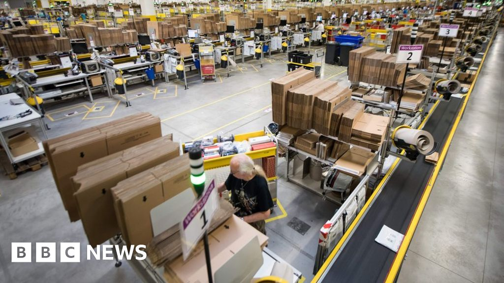 FedEx and UPS hit as Amazon 'plots shipping expansion' - BBC News
