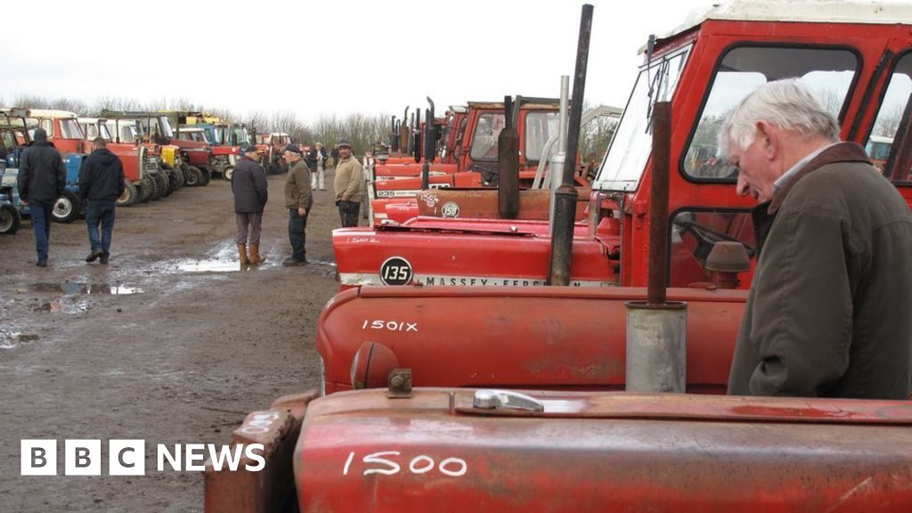 Is this the world's favourite second-hand tractor? - BBC News