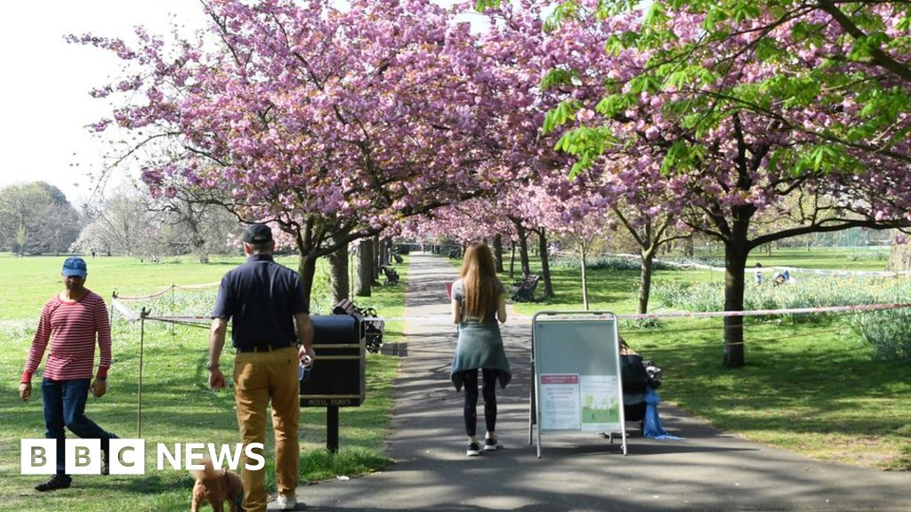 Coronavirus: the Google data suggest park visits rose at the weekend