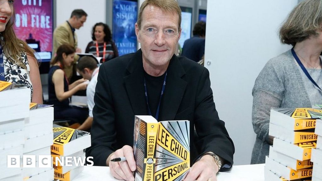Jack the gripper author Lee Child passes the writing baton brother