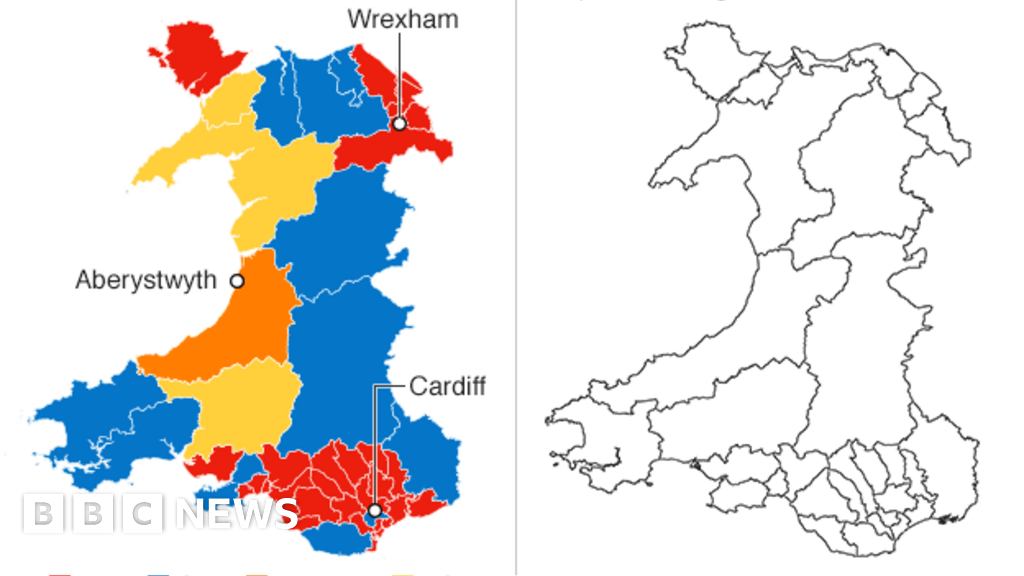 Boundary Commission map cuts Welsh MPs by a quarter - BBC News