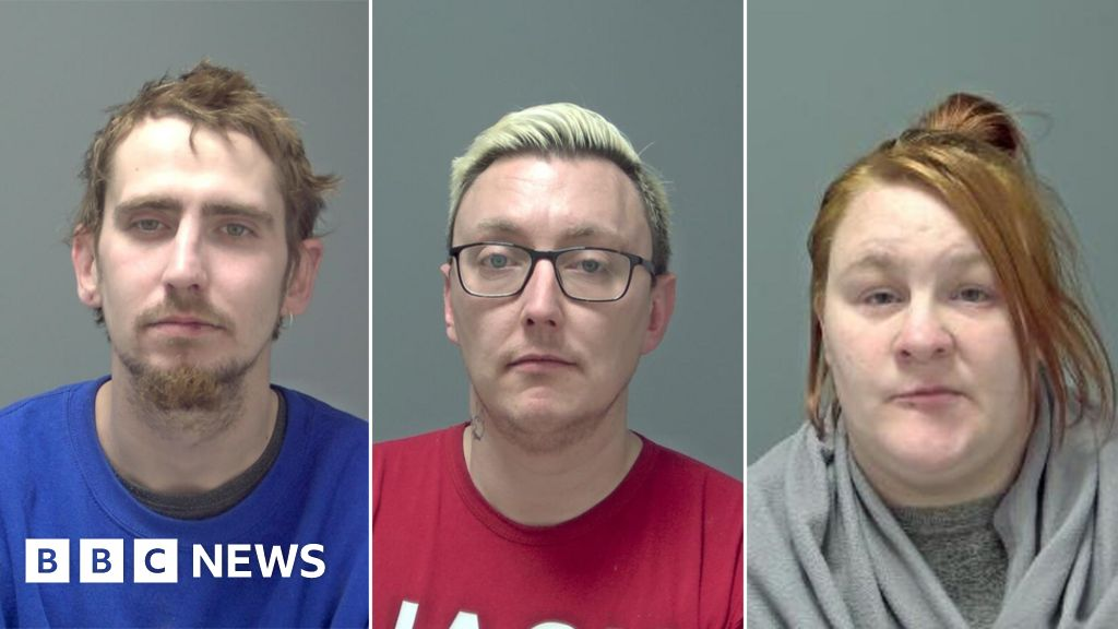 Ipswich Joe Pooley murder: Three jailed for river death