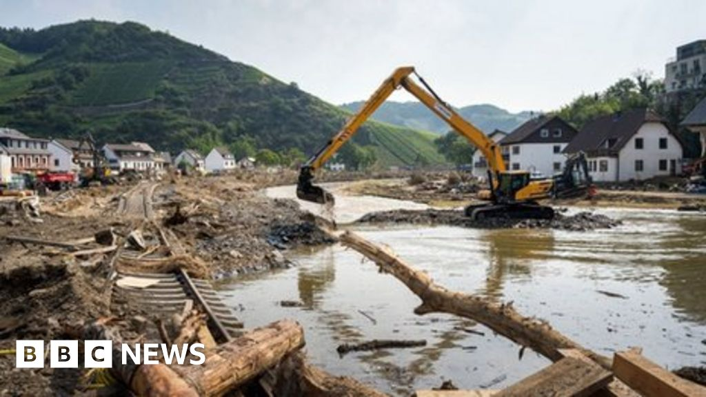 Climate change: Europes extreme rains made more likely by humans