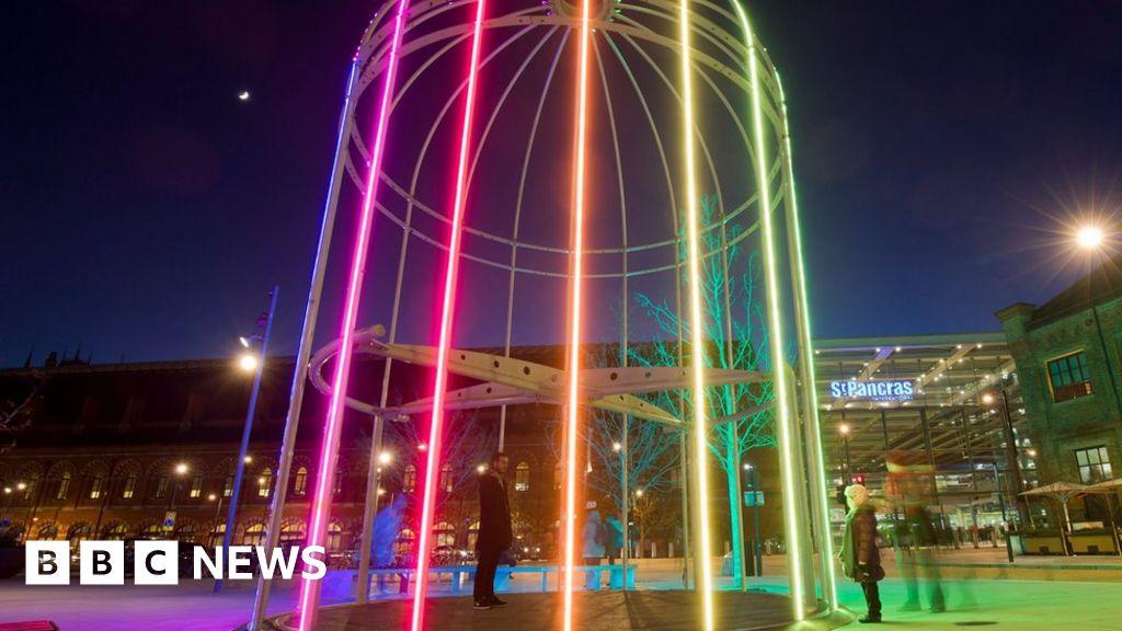 lumiere london festival of light returns to london bbc news