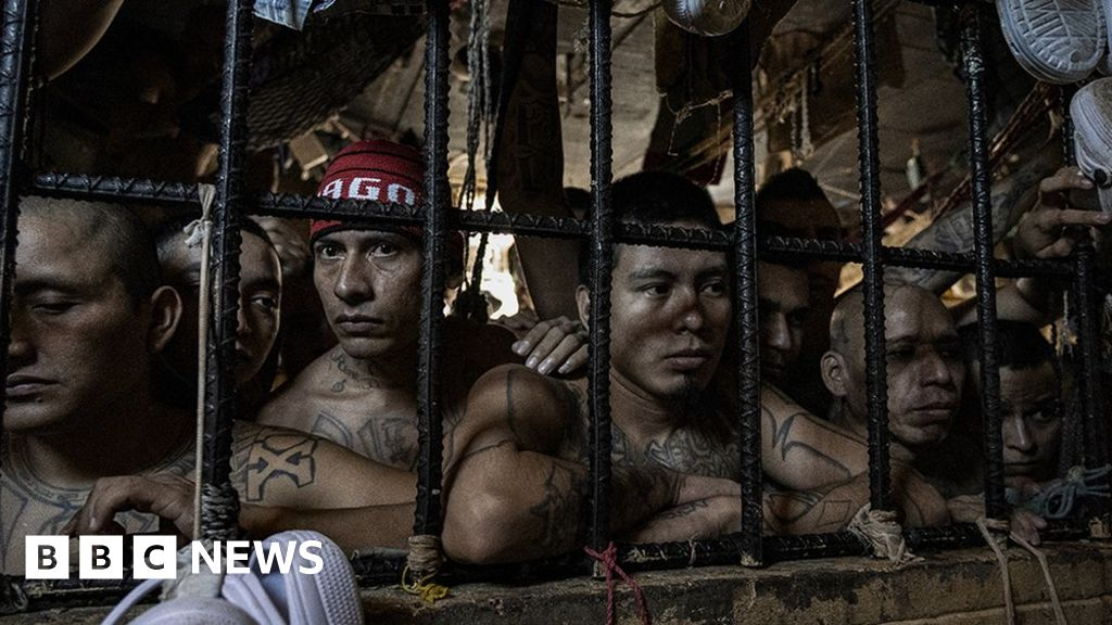 El Salvador's jails: Where social distancing is impossible