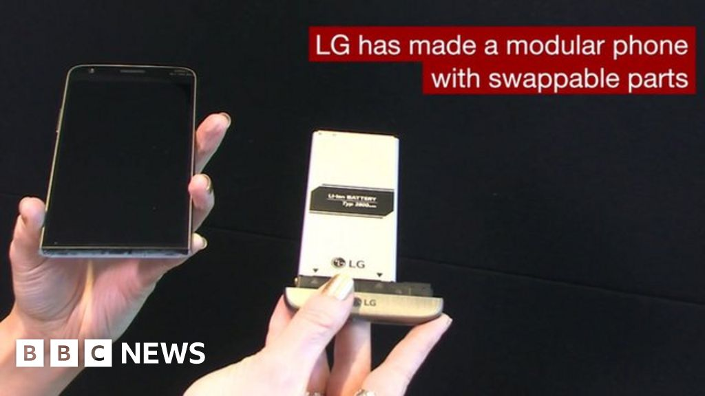 LG's phone has swappable parts that enable extra features