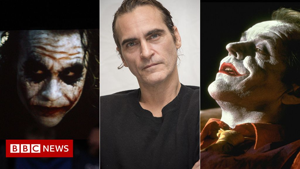The Joker: Joaquin Phoenix and the many faces of Gotham's most wanted - BBC  News