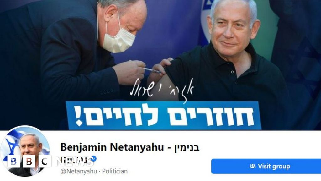 Covid: Facebook suspends Israel PM Netanyahu's chatbot