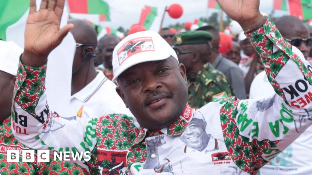 <b>Burundi president dies suddenly at 55</b>
