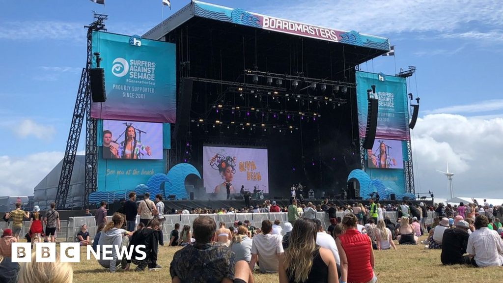 Boardmasters: 4,700 Covid cases 'may be linked' to Newquay festival