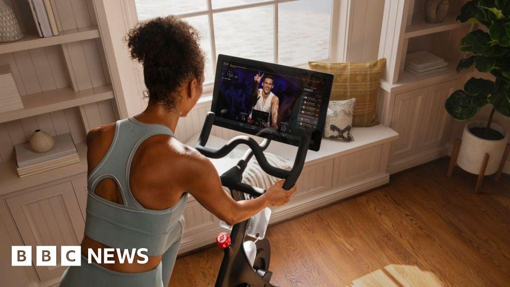 Coronavirus: Exercise bike firm Peloton stops live classes thumbnail