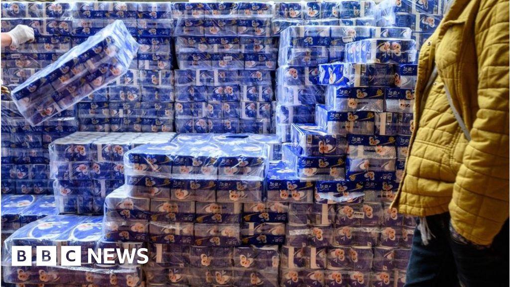 Coronavirus: Armed robbers steal hundreds of rolls of toilet paper in Hong Kong