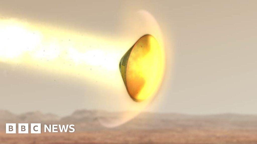 bbc news on mars landing - photo #31