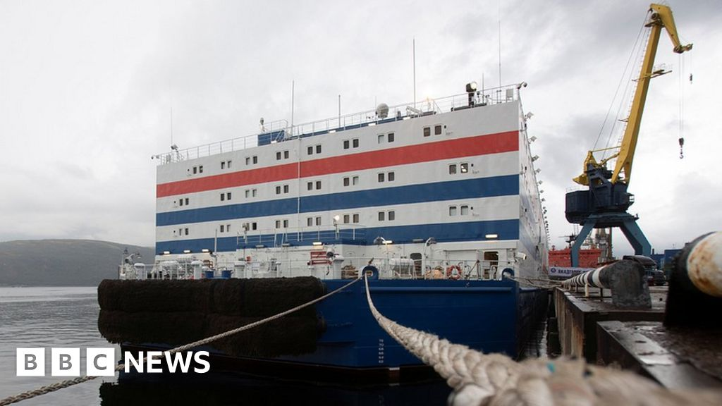 Russia floating nuclear power station to set sail