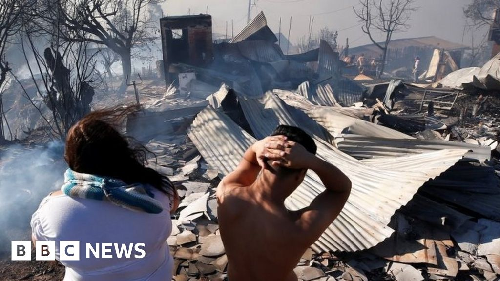 Valparaíso wildfire: Raging forest fires engulf Chilean city thumbnail