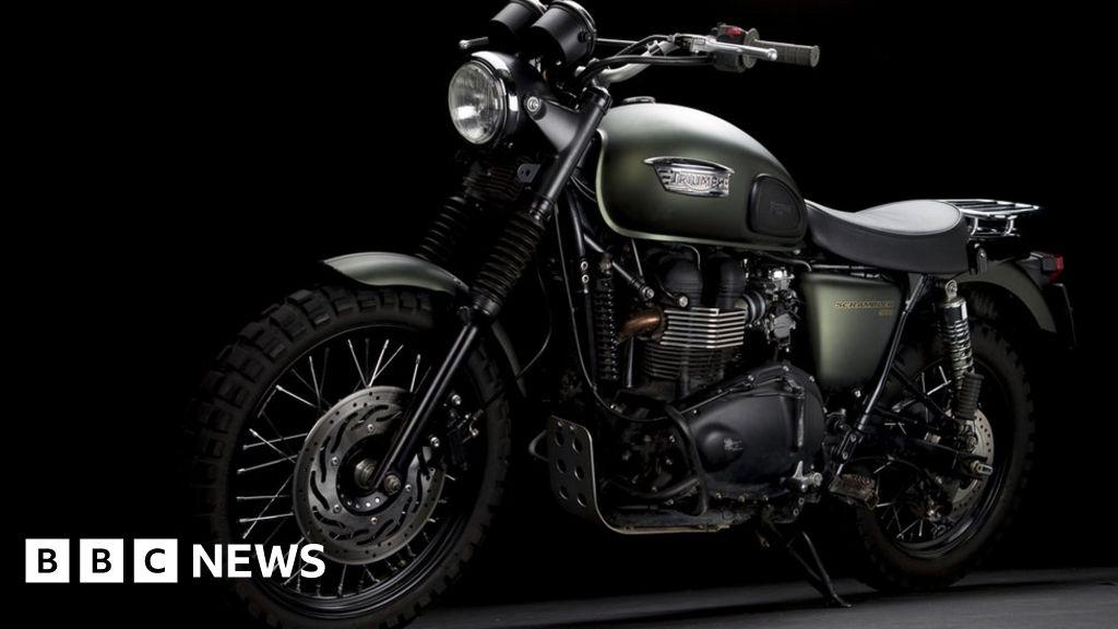 Coronavirus Triumph Motorcycles To Cut 400 Jobs Bbc News