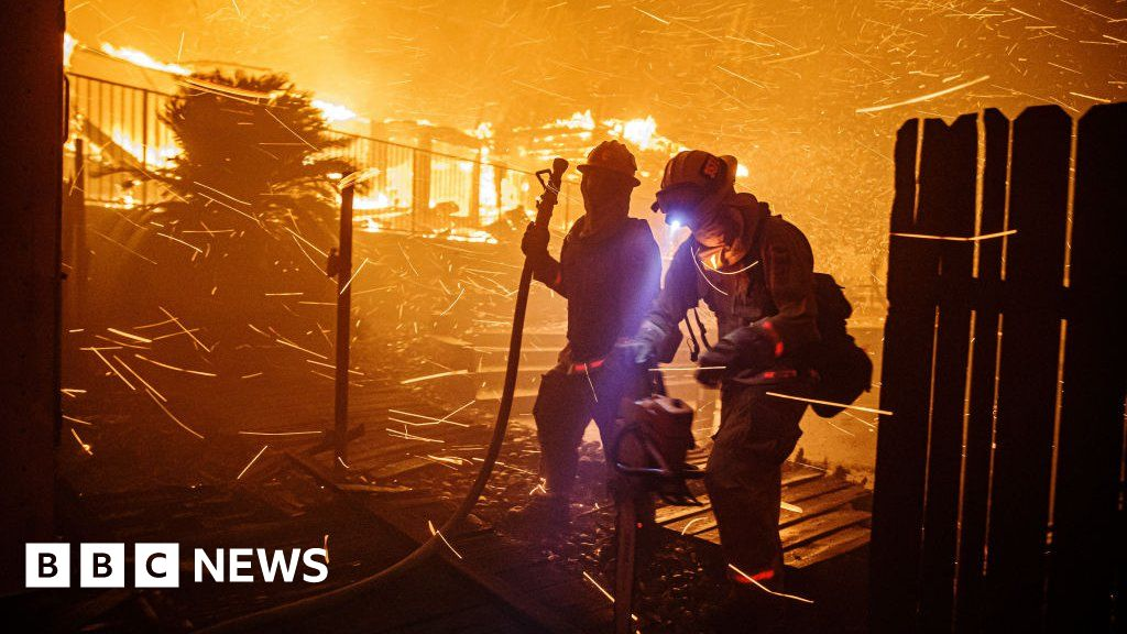 California fires: More blazes sparked in Los Angeles area